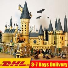 2019 Совместимость Legoings 71043 Лепин 16060 6742 шт. Гарри Магия Поттер Замок Хогвартс строительные блоки кирпичи детские игрушки