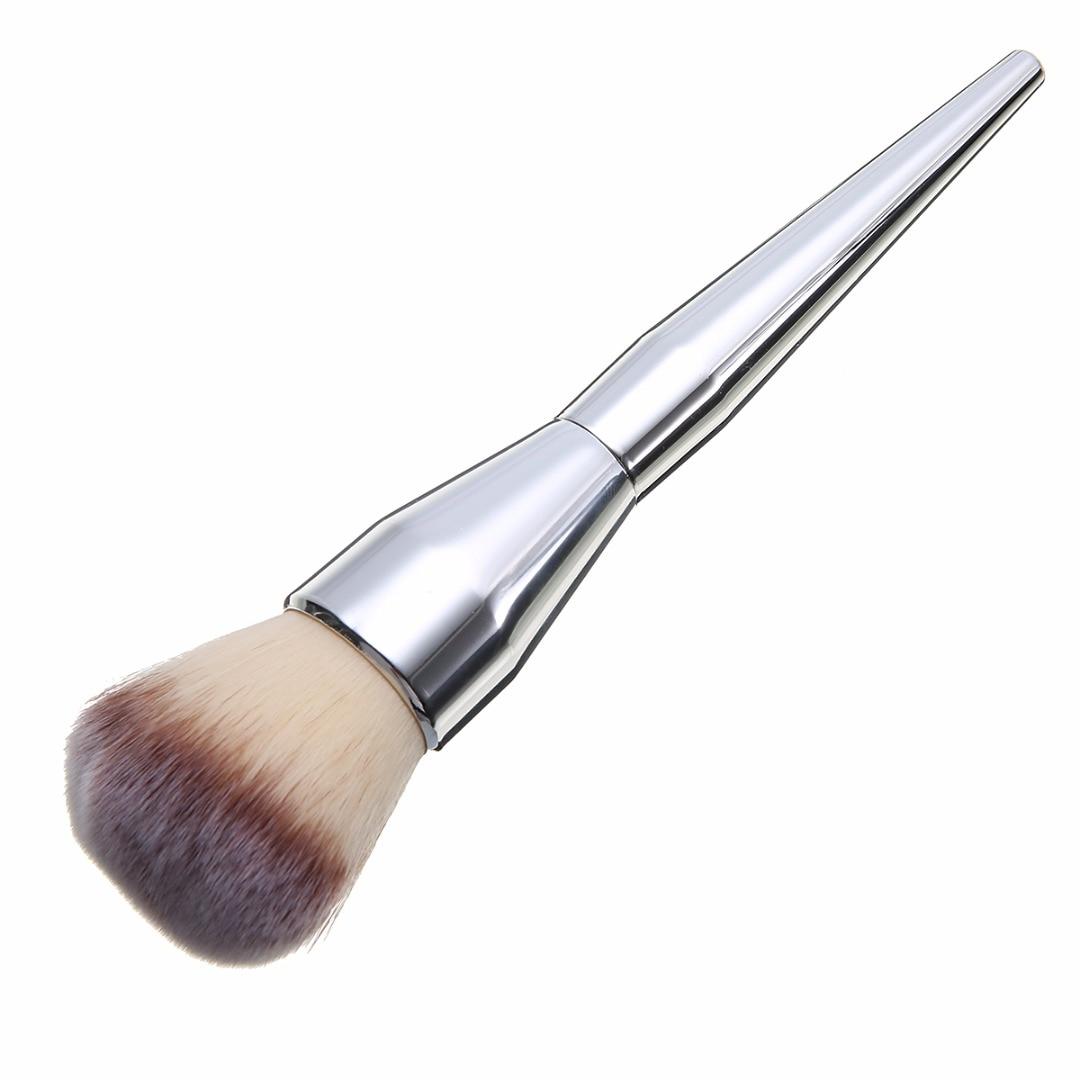 1Pc New Foundation Powder Blush Fiber Hair Brushes Powder Highlight Brush Makeup Cosmetics Tool For Lady Women Girl Mayitr