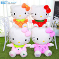 Hot sale 4 colors hello kitty plush toys KT cartoon Stuffed dolls for girls kids toys best gift action & toy figure & hobbies