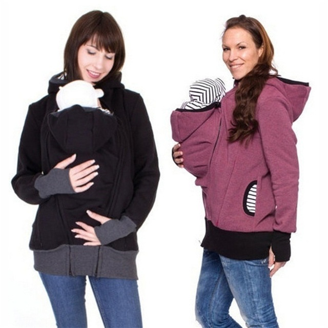 Winter Women Hoddies Carry Baby