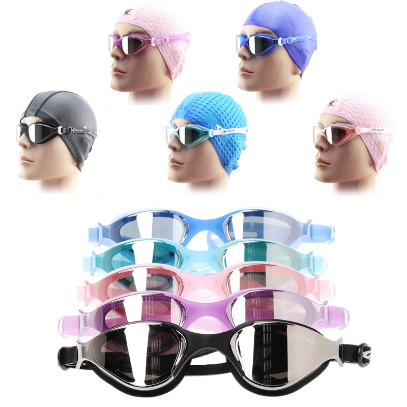 Professional Silicone Swimming Glasses Adults Plating Waterproof Antifog Goggles Swimming Eyewear Men Woman Swimming Accessories