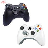 K ISHAKO 2.4GHz Wireless Gamepad Joypad Controller Game Joystick Pad for Xbox 360 Game Black/white color