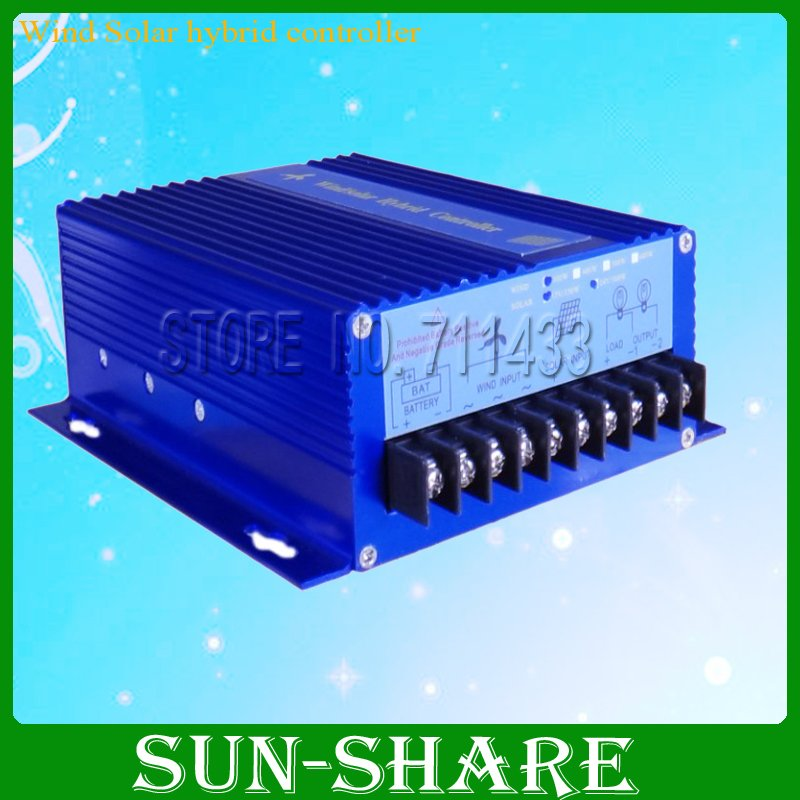 DHL FREE SHIPPING 100W DC24v/12V wind solar controller with  time control /light control(100w wind generator+150w solar panel )  цены