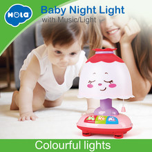 HOLA 1107 Novelty Luminous Toys Romantic Starry Sky Night Light Projector Night Light Creative Birthday Toys For Children(China)
