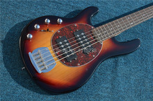Freies Verschiffen Neue guitarraOEM e-gitarre bass gitarre shop multicolor links hand fünf string guitarra/gitarre China