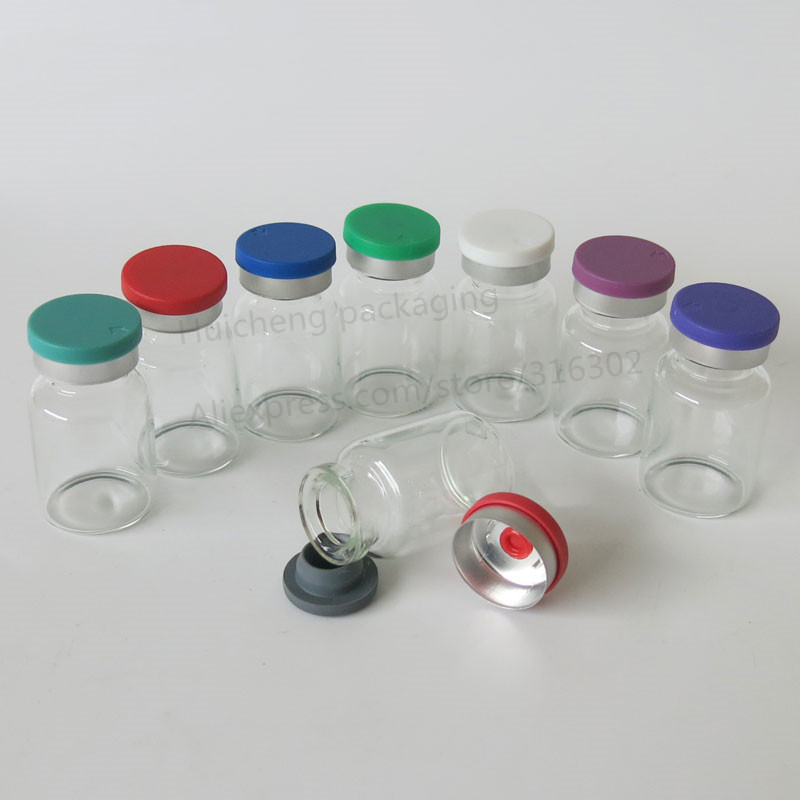 10ML Clear Injection Glass Vial with Center Flip Off Cap 10CC Transparent Liquid Medicine Glass Containers 2540 азу red line 2 usb модель c20