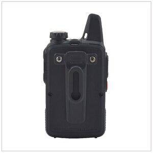 Image 5 - 1pcs x baofeng Mini Walkie Talkie BF T1 UHF 400 470MHz 1W 20CH Small Mini Portable Ham FM Two way Radio With Earpiece