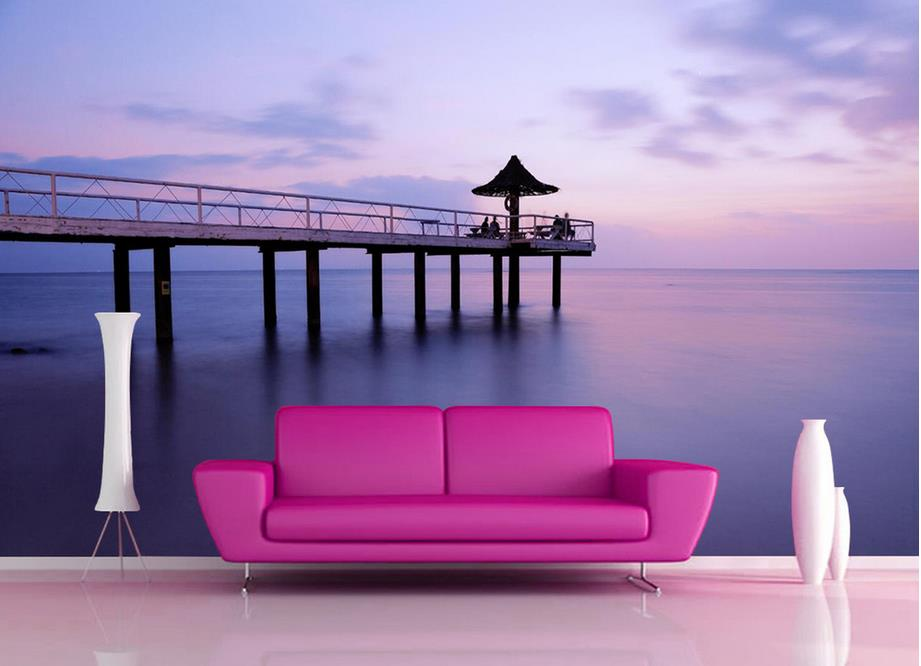 ... Hausdekorationen Und Modernen Möbeln Kleines Ehrfürchtiges   Natur Wand  Im Wohnzimmer ...
