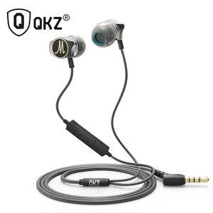 Image 1 - Earphone QKZ X10 Zinc Alloy In Ear Earphones HiFi Earphone fone de ouvido Headset auriculares audifonos Stereo BASS Metal DJ