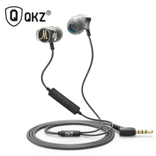 Oortelefoon QKZ X10 Zinklegering In Ear Oortelefoon HiFi Oortelefoon fone de ouvido Headset auriculares audifonos Stereo BASS Metalen DJ