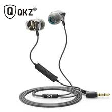QKZ X10 Liga de Zinco Na Orelha do fone de ouvido de Alta Fidelidade Fones De Ouvido Fone de Ouvido fone de ouvido fone de Ouvido auriculares audifonos Estéreo BASS DJ de Metal