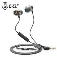 Słuchawki QKZ X10 stopu cynku w ucho słuchawki słuchawki hi fi fone de ouvido zestaw słuchawkowy auriculares audifonos bas radiowy Metal DJ