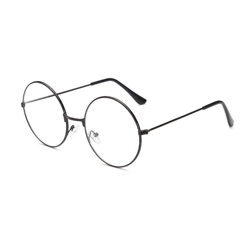 Vintage Round Round Glasses Frame Female Brand Designer Gafas De Sol Spectacle Plain Glasses Gafas Eyeglasses Eyewear
