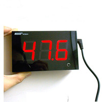 Wall mounted decibel meter noise meter noise meter noise volume test ring noise monitoring 12 * 7.5CM