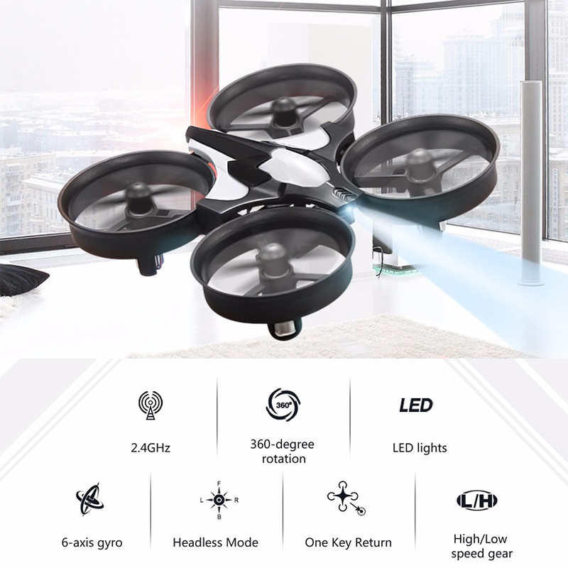 Global Drone Quadrocopter Micro Drone 6 Axis Gyro 4CH RC Helicopter Headless Mode Pocket Dron Toys For Boys Mini Drone (1)