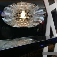 מתקן תליית אור אהיל כוורת כוורת השעיה D35cm המודרני מינימליסטי אקריליק אור תליון קן ציפור