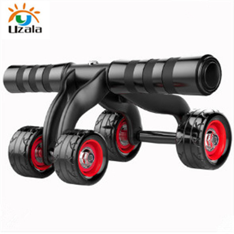 Abdominal Exercise 4 Wheel More Professional High Quality 4 Wheels Fitness Gym Equipment