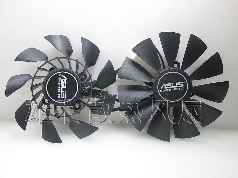 Free Delivery.GTX780 GTX780TI R9 280X / 290X Graphics Dual Fan T129215SU computador cooling fan replacement for msi twin frozr ii r7770 hd 7770 n460 n560 gtx graphics video card fans pld08010s12hh