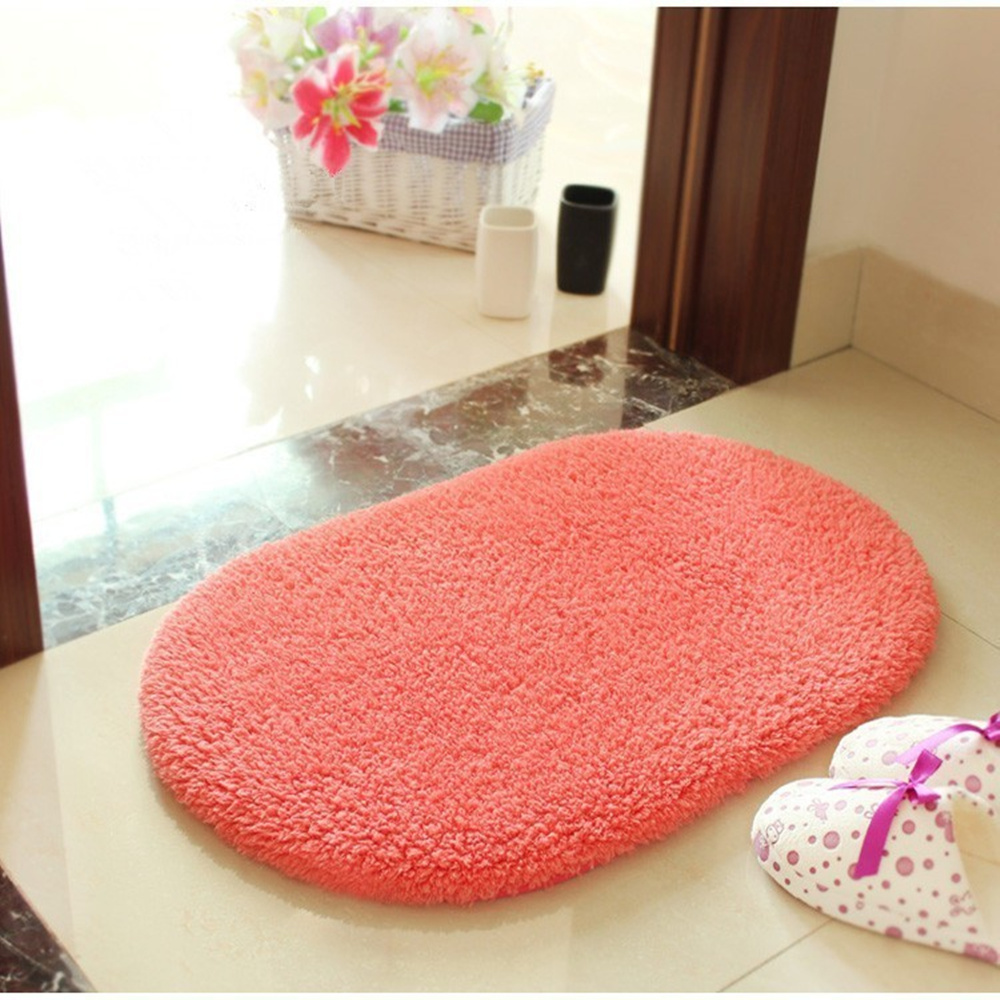 adasmile new super soft long plush shaggy oval room mats mat area rugs for decoration living - Oval Area Rugs