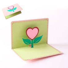 Buy simple greeting cards and get free shipping on aliexpress simple pattern 3d pop up i love mom greeting cards birthday m4hsunfo