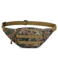 Unisex Waist Bag Chest bag For men Tactical Waist Pack Fanny Pack For Women Waterproof Running Waist Bag Climbing Outdoor Sports