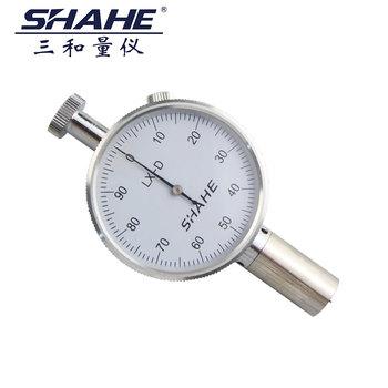 Trzy i brzeg twardościomierz metalowy przenośny gumowy twardościomierz twardościomierz tester LX-A-1 tanie i dobre opinie MIRONG ANALOG LX-A-1 single needle LX-A-2 double needle LX-C-1 single needle LX-C Shore hardness tester