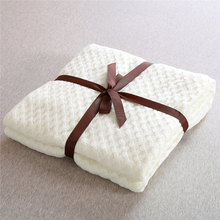 150x200cm Summer 100% Acrylic Bed Cover Blankets for Beds Waffle Plaid Cotton Throw Adults Sofa