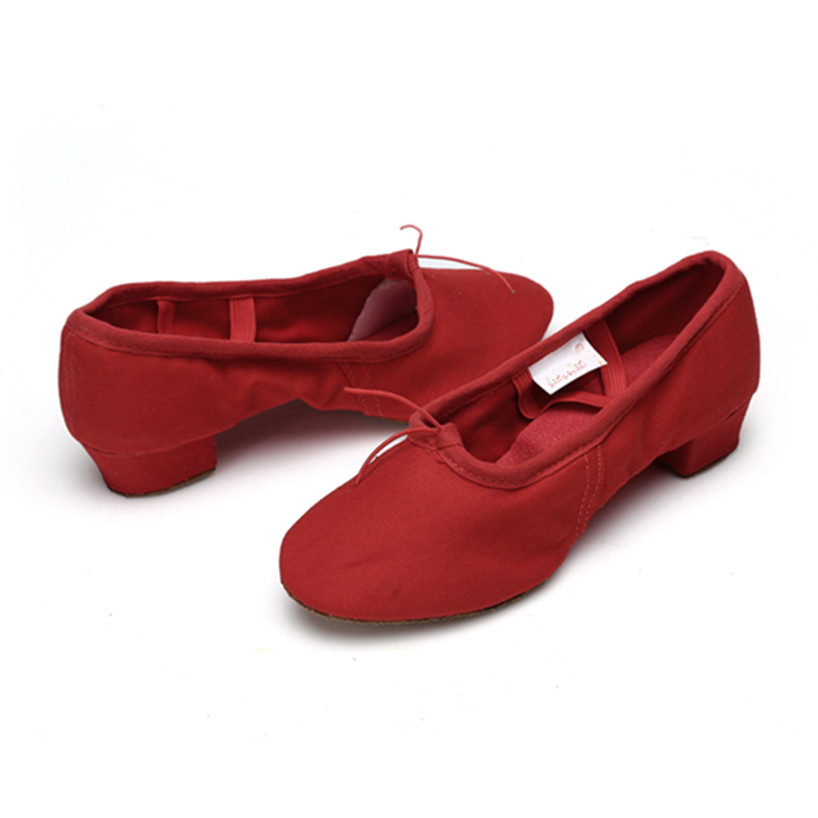 Crna Crvena Pink Balet Dance Cipele za žene Joga cipele Pratice - Tenisice - Foto 5