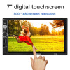 2016 Universal 7 Inch Double Din Bluetooth Full HD Mutimedia Player Support MP3 MP4 MP5 FM