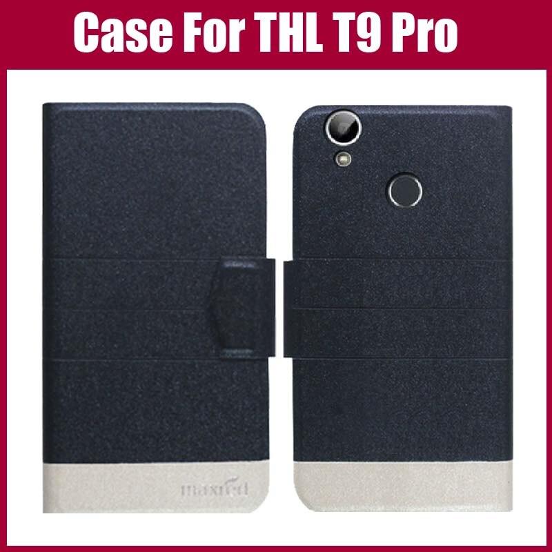 Pouzdro THL T9 Pro Nové příchod 5 barev Vysoce kvalitní Flip Leather Exkluzivní pouzdro na telefon pro Pouzdro THL T9 Pro