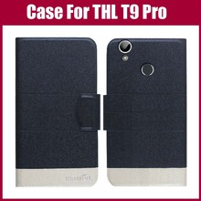 THL T9 Pro Case New Arrival 5 Colors High Quality Flip Leather Exclusive Phone Cover Case For THL T9 Pro Case