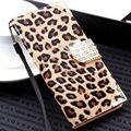 для айфона 7 6 6S плюс 5 5S SE  Чехол роскошь бумажник Леопардовый флип кожаный чехол для айфона 6 5S 5S SE 6S 7  6 плюс Алмаз Крышка фунда
