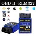 2017 Новейшие Wi-Fi bluetooth Интерфейс OBD2 Can-bus Сканер ELM 327 OBD II Поддержка Android/IOS/PC система OBD2 Диагностический Инструмент
