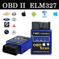 2017 Mais Recente bluetooth Wi-fi Interface Can-Bus OBD2 Scanner ELM 327 OBD II Suporta Android/IOS/PC OBD2 Ferramenta De Diagnóstico do sistema