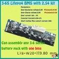3 S 4S 5S 6 S PCM de lifepo4 BMS 18650 li-ion batería de litio bordo de protección 3.7 v 3.2 v