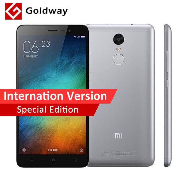 Original Xiaomi Redmi Note 3 Pro Prime Special Edition International Version Handy Snapdragon 650 32 Gb