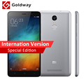 Original xiaomi redmi note 3 pro prime special edition versão internacional telemóvel snapdragon 650 32 gb rom fingerprint id