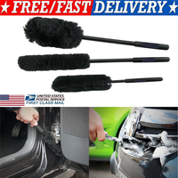 Household Merchandises Car Cleaning Brushes 3pcs Car Tire Rim Wheel Scrub Washing Cleaner Brush Vehicle Cleaning Tool 3Pcs Set