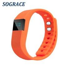 TW64 Smart Wristband Bluetooth 4.0 Waterproof IP67 Smartband Smart Band Sleep Monitor