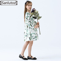 Girls Dress Winter Children Girls Clothing Party Flower Brand Kids Clothes For Princess Holiday Spring Wedding
