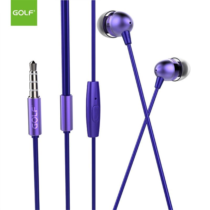 GOLF M7 3.5mm Jack Auriculares estéreo universales para iPhone 4S 5 - Audio y video portátil