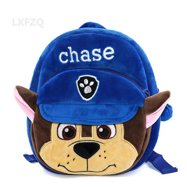 6387ee53db1e 3D Plush Bags for girls backpack kids Mini dog children school bags lovely  Satchel School knapsack Baby bags Zipper