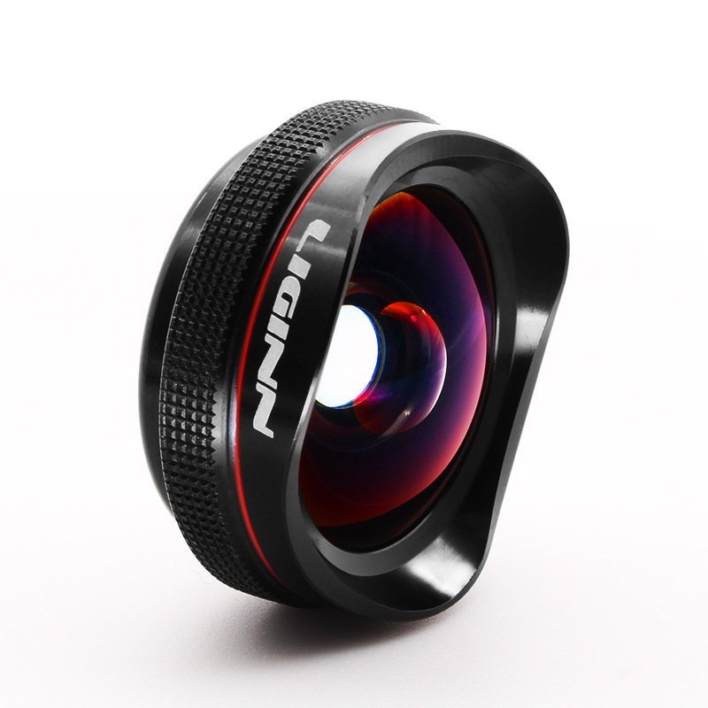Mobile Phone Lens 16mm Distortion free Wide angle Macro 2 in 1 4K HD External Camera Lens in Mobile Phone Lens from Cellphones Telecommunications