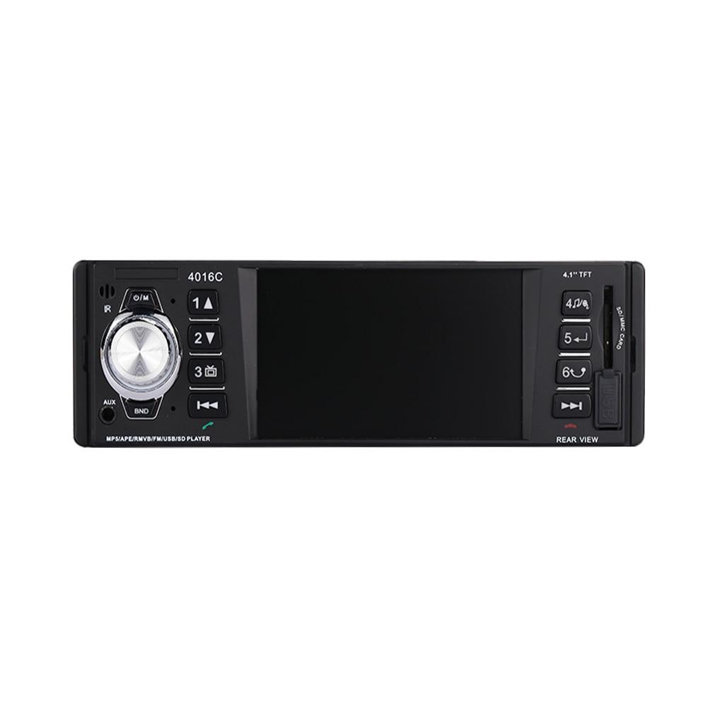 VEHEMO 1Din DC12V автомобиля MP5 автомобильный комплект автомобильной MP3 Премиум мультимедийный плеер Поддержка SD карты Поддержка заднего вида
