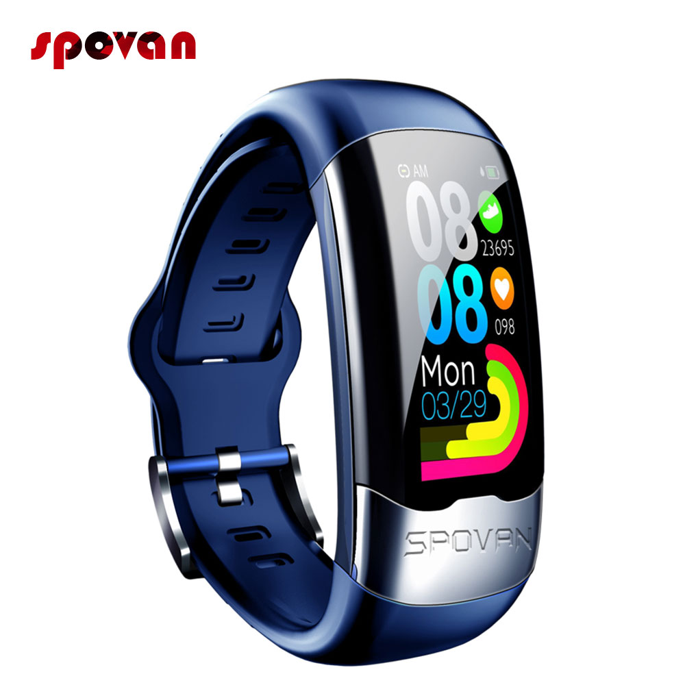 Smart Bracelet Sport Band With ECG Activity Tracker Blood Pressure Heart Rate HRV Sleep Monitoring PK Band 4 image