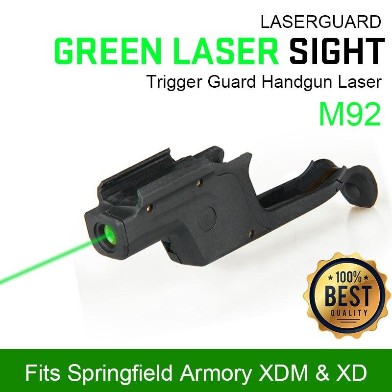 Dispositif de visée Laser rouge tactique pour M92 polymère pour la couleur noire 3V pour la chasse tir PP20-0040