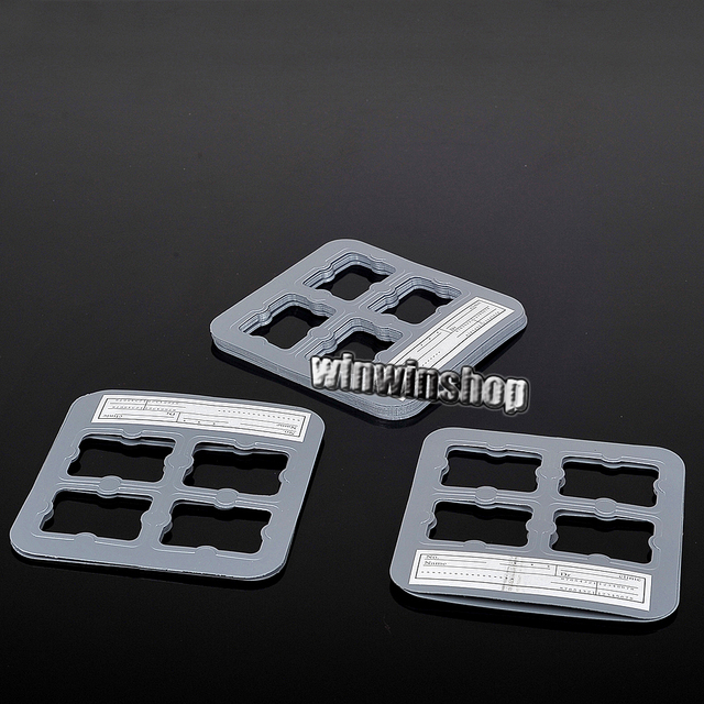 50pcs Dentistry Product Universal X-Ray Film Mount Frame  4 holes