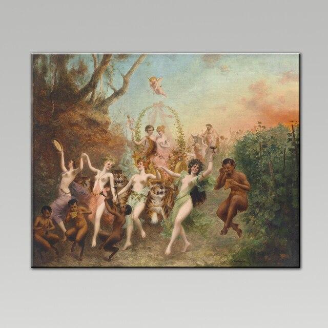 Impresión del arte de la lona pintura famosa mujer desnuda pintura ...