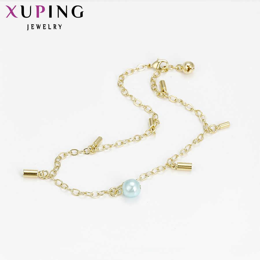 11.11 Xuping ファッションアンクレット新着ゴールド色メッキ高品質の高級足チェーンジュエリー特別なギフト女性 S13-73899