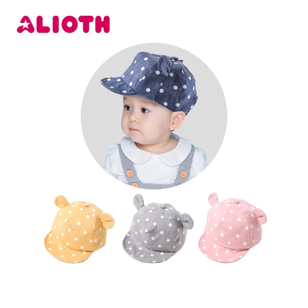 DreamShining Fashion Cat Baby Hats Unisex Girls Boys Baseball Caps ...